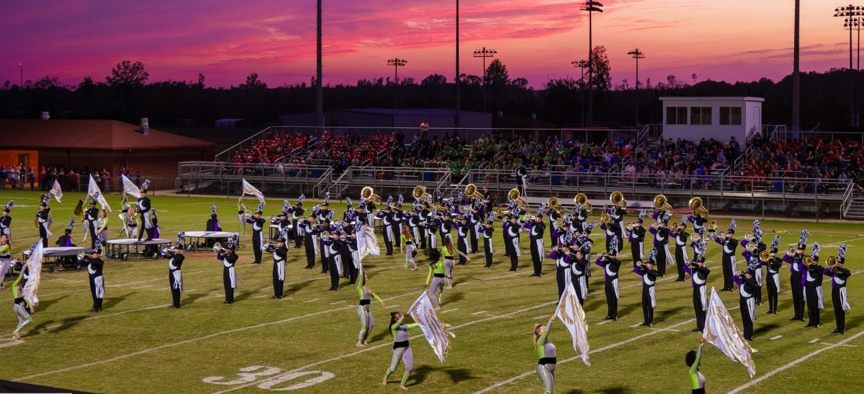 The Pride of DeSoto Central Marching Band